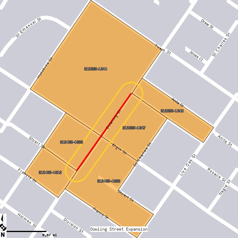 Sample Housing Map